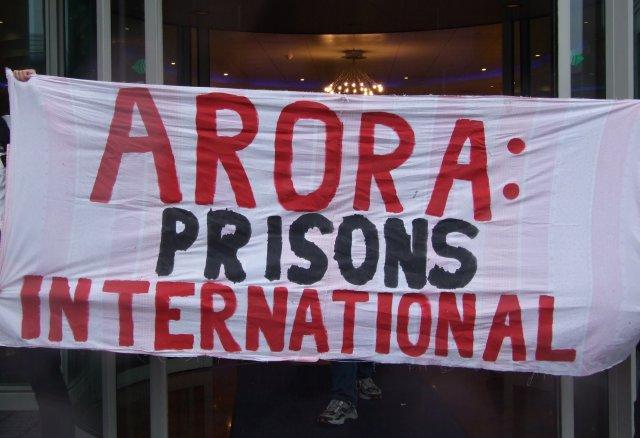 Arora-prison-protest