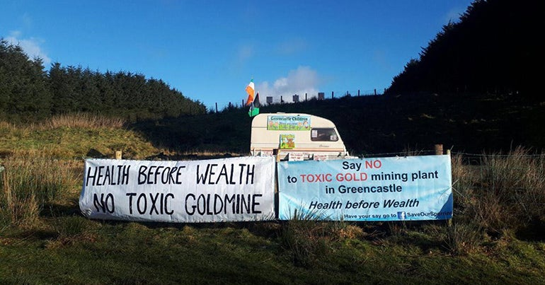 Resisting the gold rush: Dalradian Resources and the